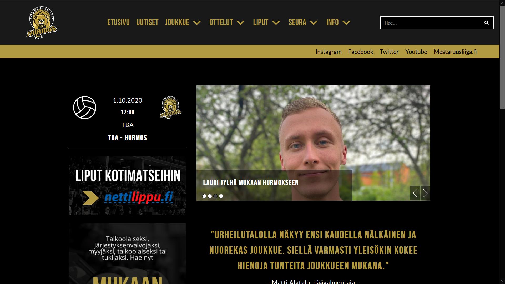 UUSI karelianhurmos.fi