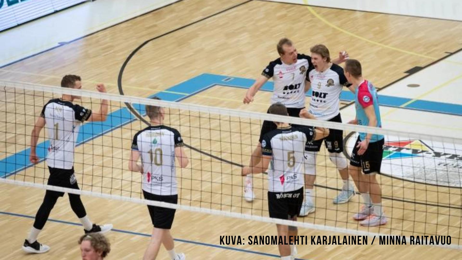 Savo Volley voitti Itä-Suomen trillerin